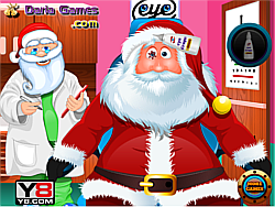Santa Eye Care Doctor game