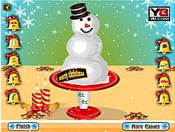 Snowman Designer game