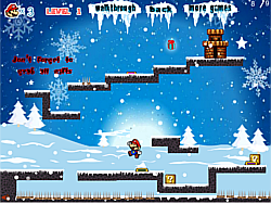 Mario Ice Adventure game