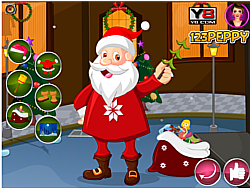 Gifting Santa Dress Up game