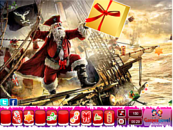 Christmas Santa Claus Hidden Objects game