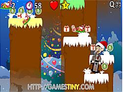 Mr Bean Christmas Jump game