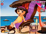 Dora at the Spa game