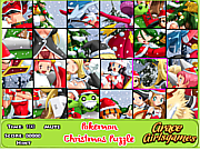 pokemon Christmas puzzle game