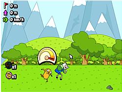 Maglaro ng libreng laro Adventure Time - Jumping Finn