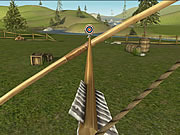 Bowmaster Target Range game