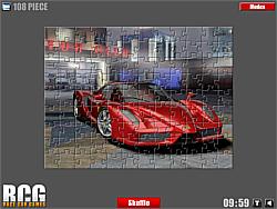 Ferrari Jigsaw game