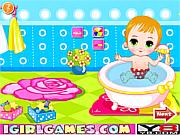 play baby bathing games for little kids game online y8 com. Black Bedroom Furniture Sets. Home Design Ideas