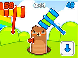 Mole Hammers game