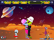 Aliens Kiss game