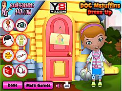 Doc Mcstuffins Dress Up game