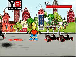 The Simpson Underworld game