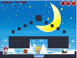 Mario Christmas Present game