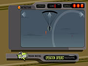 Play Operation skyburst paratrooping Game