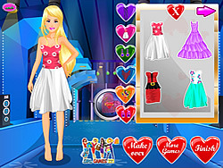 Barbie Valentine Dress Up game