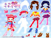 Play Sue winter dress up Game