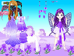 juego Purple Butterfly Dress up
