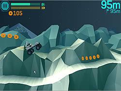 Lynx Lunar Racer game