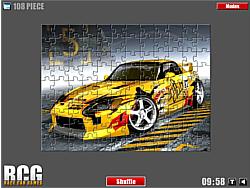 Honda Jigsaw game
