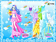 juego Aquarius Zodiac Dress up