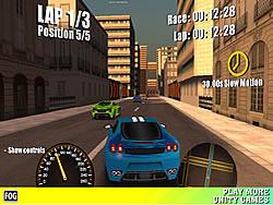 Spielen Sie das Gratis-Spiel  Street Racing