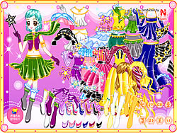 juego Magic Dress up