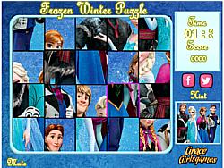 Frozen Winter Puzzle game
