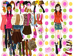 juego Julie Dress up