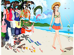 juego Thailand Beach Dress up