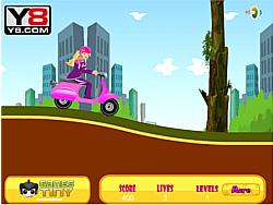 Barbie Princess Vespa game