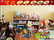 Messy Toys Room game