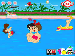 Swimming Time Kiss game