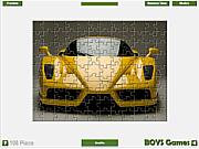 Ferrari Enzo Jigsaw game