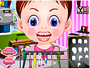 Juega al juego gratis Baby Emma Tooth Problems