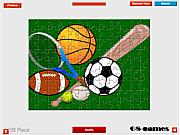 Sport Balls Jigsaw game