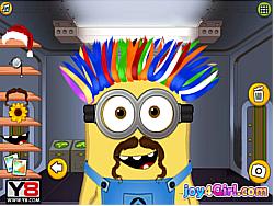 Jouer au jeu gratuit Minion At Hair Salon
