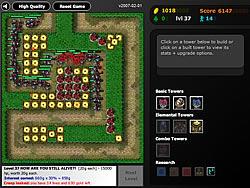 Flash Element TD game