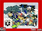 Juega al juego gratis Ninja Hattori Kids Jigsaw