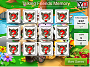 Talking Friends Memory game
