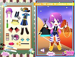 Cowgirl Dressup game