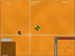 Desert Tank Attack game
