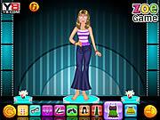 Juega al juego gratis Zoe with Barbie dressup