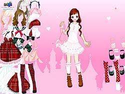 Играть бесплатно в игру Stockings Dress up