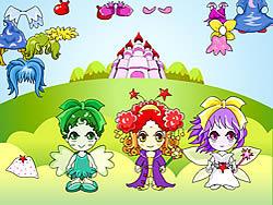 Three Fairy Dressup game