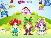 Play Three fairy dressup Game