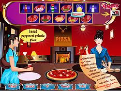 Delicious pizza corner game