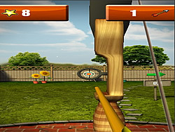Backyard Archer game