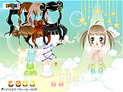 Play Baby angel dress up Game