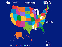 USA Geography game