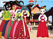 Asian Dress Up game